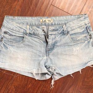 L.e.i. Jean Shorts